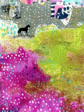 Fuschia and Lime Pasture by Sarah Ogren