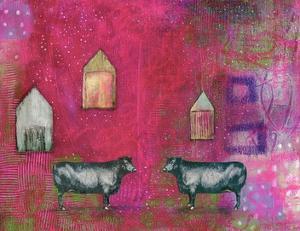 Hot Pink Bull by Sarah Ogren