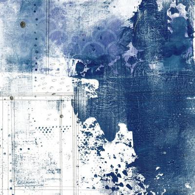 Navy Abstract I