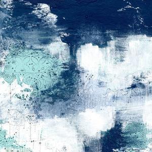 Navy Abstract II by Sarah Ogren