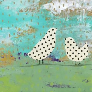 Polka Dot Birds by Sarah Ogren