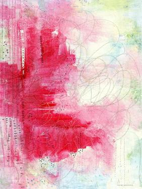 Watermelon Seeds Abstract by Sarah Ogren