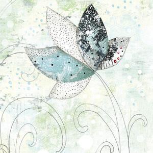 Zen Floral I by Sarah Ogren