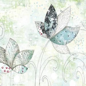 Zen Floral II by Sarah Ogren
