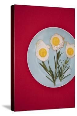 Flower Eggs by Sarah Saratonina