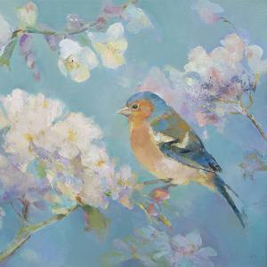Birds in Blossom - Detail II by Sarah Simpson
