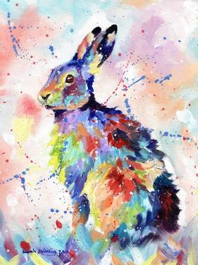 Abstract Hare by Sarah Stribbling
