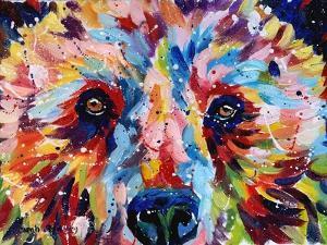 Bear Multicolour by Sarah Stribbling