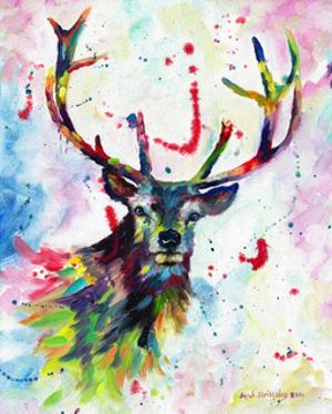 Color Stag by Sarah Stribbling