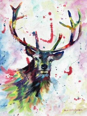 Stag by Sarah Stribbling