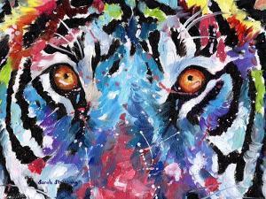 Tiger Eyes by Sarah Stribbling