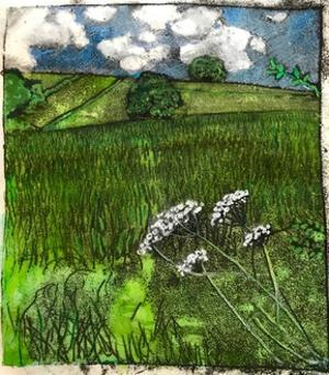 Somerset Landscape by Sarah Thompson-Engels