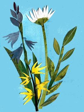Spring flowers,2018 by Sarah Thompson-Engels