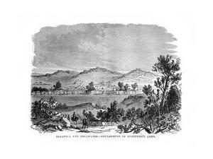 Saratoga and Stillwater, Encampments of Burgoyne's Army, 1777
