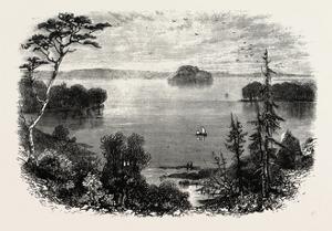 Saratoga Lake, USA, 1870s