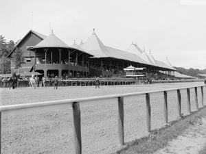 Saratoga Springs, N.Y., Grand Stand, Race Track, C.1900-10
