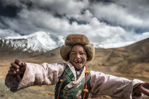 Smile, Tibet by Sarawut Intarob