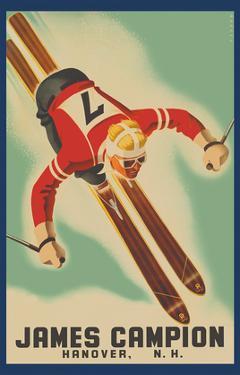 James Campion Clothing - Hanover, New Hampshire - Skiing by Sascha Maurer