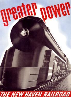 New Haven Railroad by Sascha Maurer