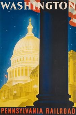 Washington Poster by Sascha Maurer