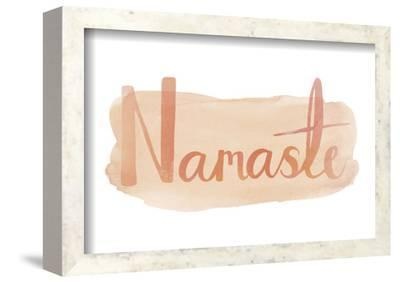 Contemplation - Namaste by Sasha Blake