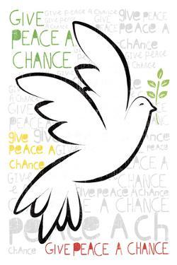 Give Peace A Chance by Sasha Blake