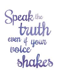 slogan on honesty and truthfulness