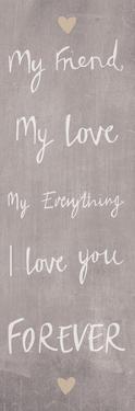 Loving Words I by Sasha Blake