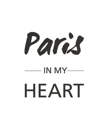 Paris is my Heart by Sasha Blake
