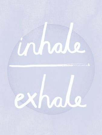 Prana - Inhale - Exhale by Sasha Blake
