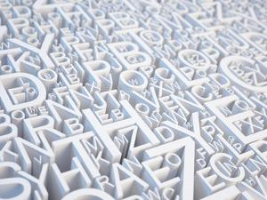 Letters Background by Sashkin