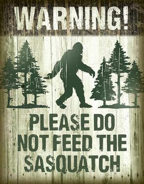 Sasquatch - Don't Feed