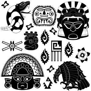 Ancient American Pattern by Sateda
