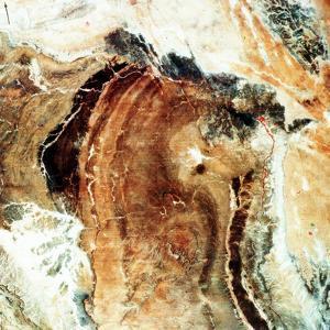 Satellite Photograph of Great Namaland, Namibia, 1972