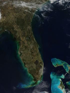 Satellite View of Florida