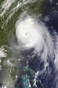 Satellite View of Hurricane Arthur