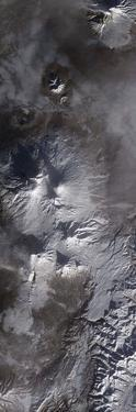 Satellite View of Russia's Kamchatka Peninsula