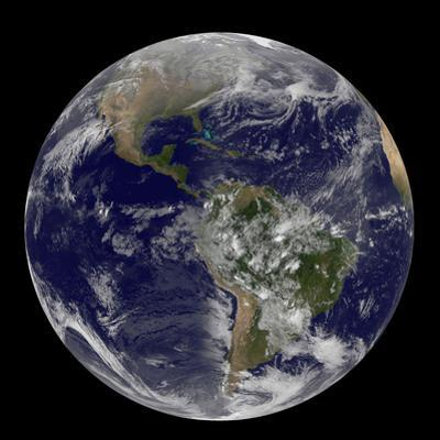 Satellite View of the First Day of Spring in the Northern Hemisphere