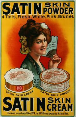 Satin Skin Powder, circa 1900