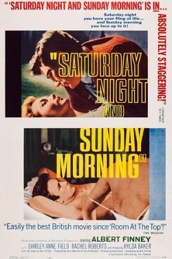 Saturday Night and Sunday Morning, Top and Bottom Inserts: Albert Finney, 1960