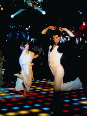 Saturday Night Fever, John Travolta (Front), 1977