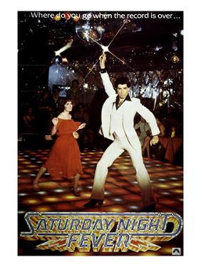 Saturday Night Fever, Karen Lynn Gorney, John Travolta, 1977