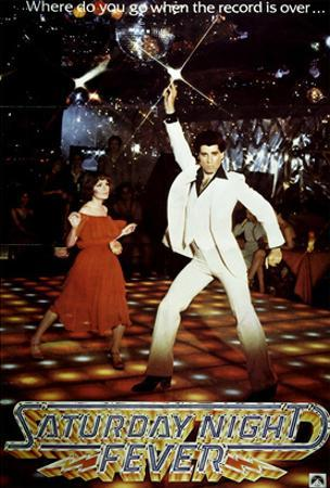 Saturday Night Fever, Karen Lynn Gorney, John Travolta, 1977