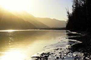 USA, Alaska, Knik River by Savanah Plank