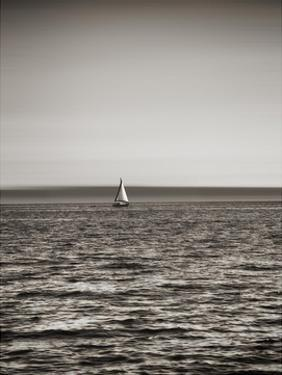 USA, Seattle, sailboat in Elli by Savanah Plank