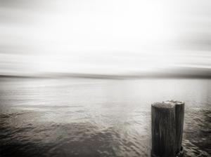 USA, Seattle, view from Alki b by Savanah Plank