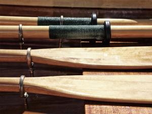 Wooden Oars by Savanah Plank