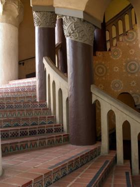Interior of the Santa Barbara Courthouse, Santa Barbara, California by Savanah Stewart