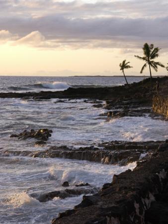 Kona Coastline, Island of Hawaii, USA