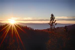 Nevada, Lake Tahoe at Sunset by Savanah Stewart